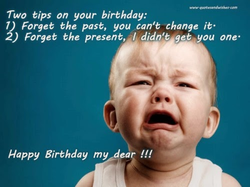 Funny Birthday Wishes for Friends and Family